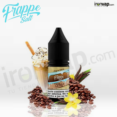 Vanilla Latte 10ml - Frappe Cold Brew Salt