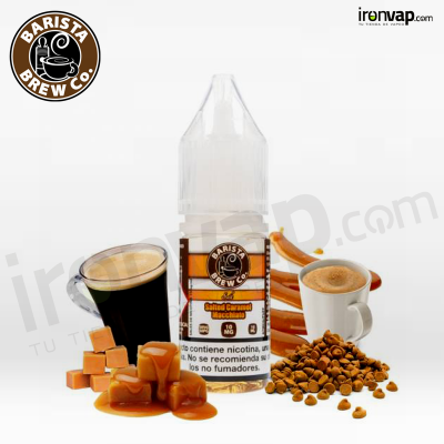 Salted Caramel Machiatto 10ml - Barista Brew Co.