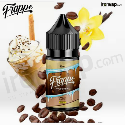 Aroma Iced Vanilla Latte 30ml - Frappe Cold Brew