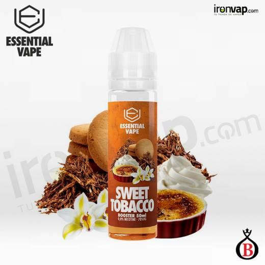 Sweet Tobacco 50ml TPd - Essential Vape by Bombo