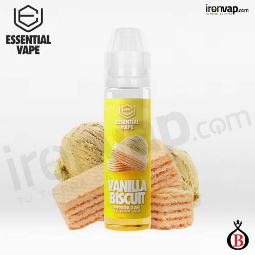 Vanilla Biscuit 50ml TPD - Essential Vape by Bombo