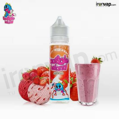 Milk N Straw 50ml TPD - Bubble Island