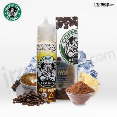 Java Frappe 50ml TPD - Coffee Time