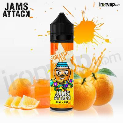 Orange Marmalade 50ml TPD - Jams Attack