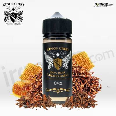 Don Juan Tabaco Dulce 100ml TPD - Kings Crest