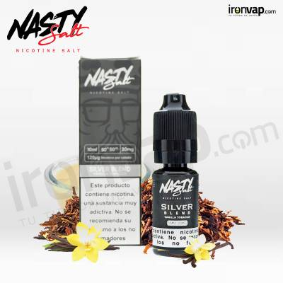 Silver Blend 10ml 20mg en sales - Nasty Juice