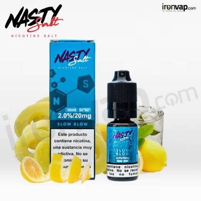 Slow Blow 10ml 20mg en sales - Nasty Juice