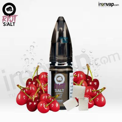 Salts Cherry Fizzle 10ml en sales - Riot Squad