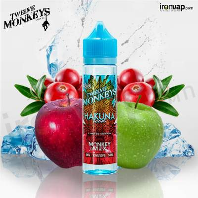 Ice Hakuna 50ml TPD - Twelve Monkeys