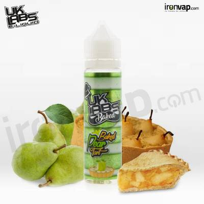 Baked Pear Tart 50ml TPD - UK Labs
