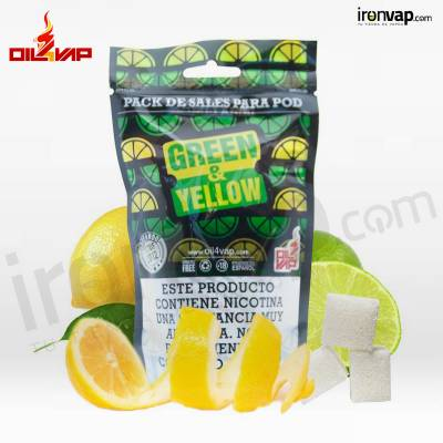 Pack Green & Yellow + NicoVaps - Oil4Vap Sales