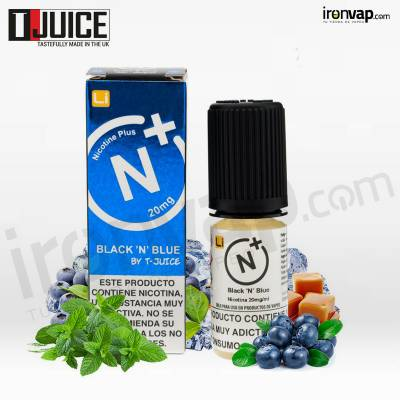 Black´n Blue 10ml en sales - T-Juice