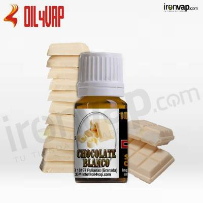 Aroma Chocolate Blanco 100%VG 10ml - Oil4Vap