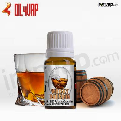 Aroma Whisky Bourbon 10ml - Oil4Vap
