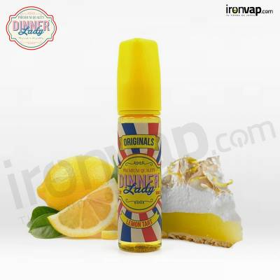 Lemon Tart 50ml TPD - Dinner Lady