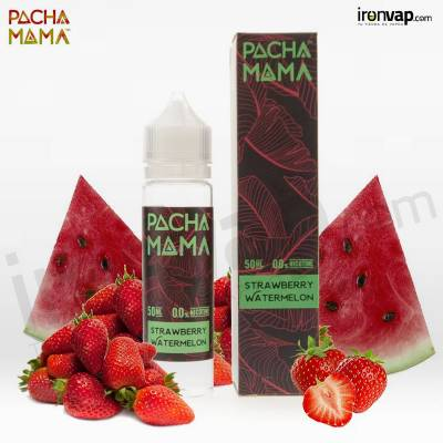 Strawberry Watermelon 50ml TPD - Pachamama