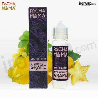 Starfruit Grape 50ml TPD - Pachamama