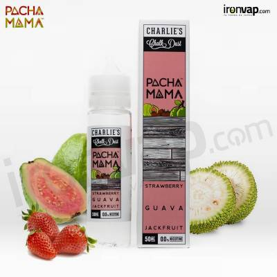 Strawberry Guava Jack Fruit 0mg 50ml TPD - Pachamama