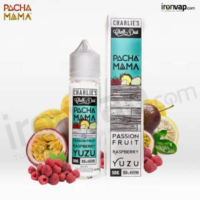 Passion Fruit Raspberry Yuzu 50ml TPD - Pachamama