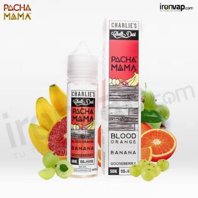 Blood Orange Banana Gooseberry 50ml TPD - Pachamama