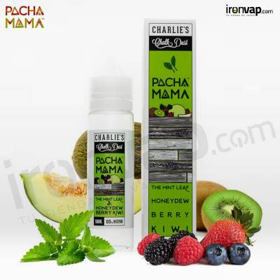 Mint Honey Berry Kiwi 50ml TPD - Pachamama