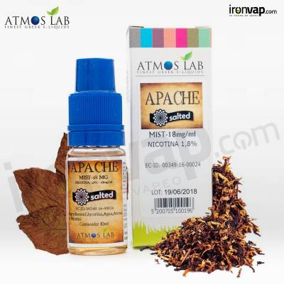 Apache Salted Mix 10ml a 18mg para POD - Atmos Lab