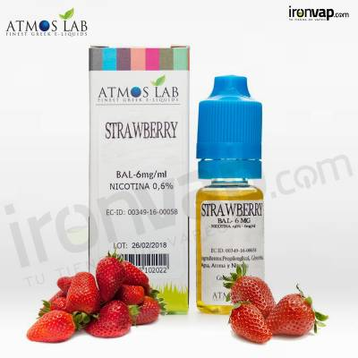 Strawberry 10ml TPD - Atmos Lab
