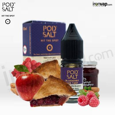 Blueberry Jam Tart 10ml en sales - Pod Salt
