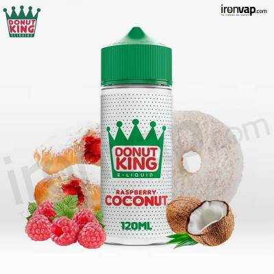 Raspberry Coconut 100ml TPD - Donut King