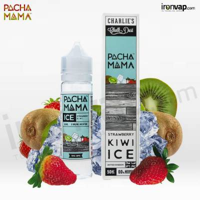 Strawberry Kiwi Ice 50ml TPD - Pachamama