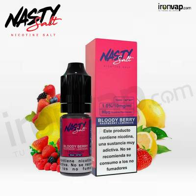 Bloody berry 10ml en sales - Nasty Juice