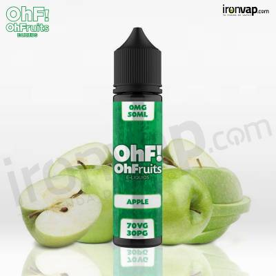 Apple 50ml TPD - OhF! Fruits e-Liquids