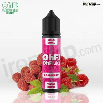 Raspberry 50ml TPD - OhF! Fruits e-Liquids