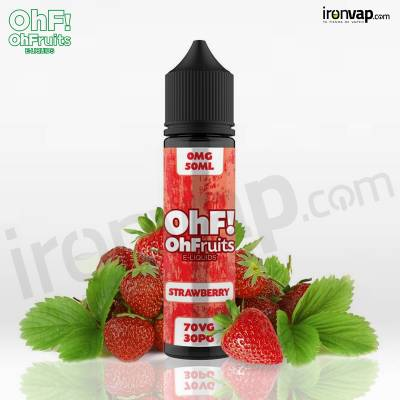 Strawberry 50ml TPD - OhF! Fruits e-Liquids