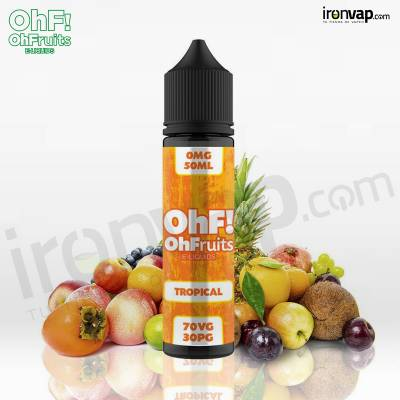 Tropical 50ml TPD - OhF! Fruits e-Liquids