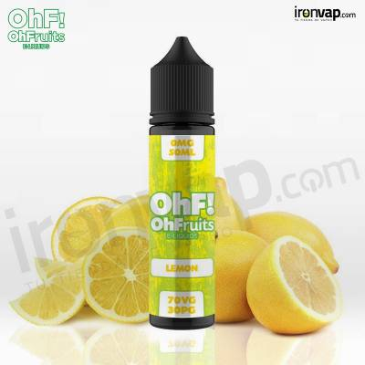Lemon 50ml TPD - OhF! Fruits e-Liquids