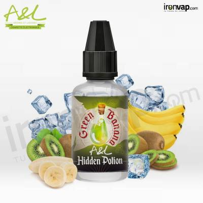 Aroma Hidden Potion Green Banana 30ml - A&L Ultimate