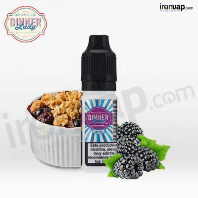 Blackberry Crumble 10ml 20mg en Sales - Dinner Lady