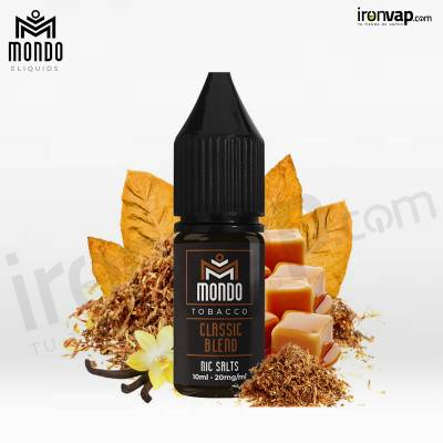 Classic Blend 10ml en sales - Mondo Nic Salts