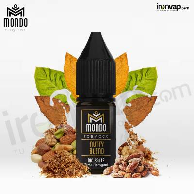 Nutty Blend 10ml - Mondo Nic Salts