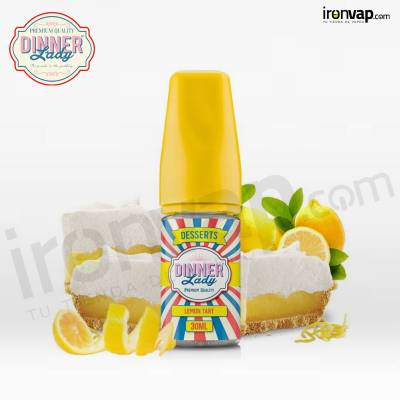 Aroma Lemon Tart 30ml - Dinner Lady