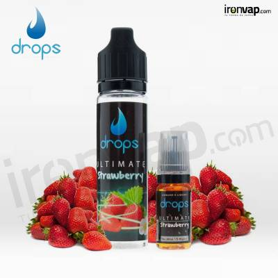 Ultimate Strawberry 50ml Shake'n' Vape TPD - Drops