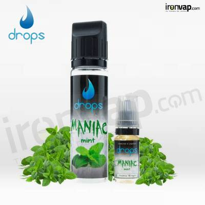 Maniac Mint 50ml Shake'n' Vape - Drops