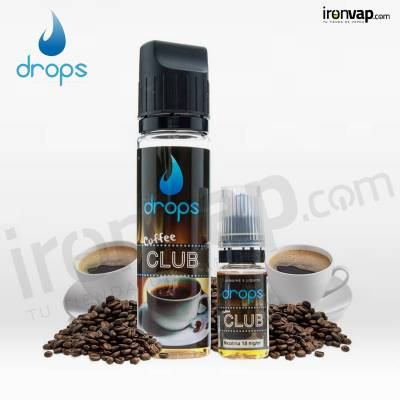 Coffee Club 50ml Shake'n' Vape TPD - Drops