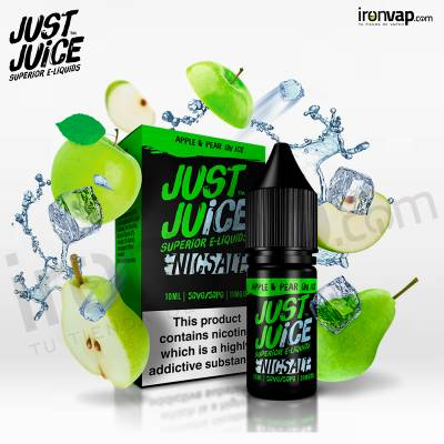 Apple & Pear on Ice 10ml en sales - Just Juice