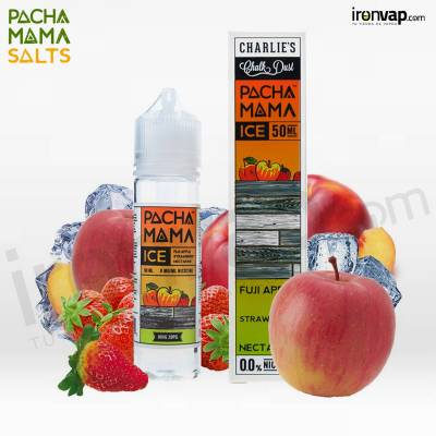 Fuji Apple Strawberry Nectarine ICE 50ml TPD - Pachamama
