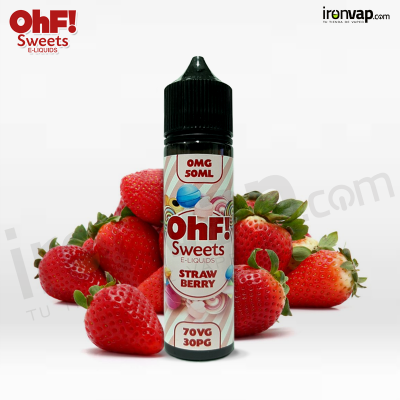 Strawberry 50ml TPD - OHF Sweets