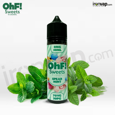 Spearmint 50ml TPD - OHF Sweets