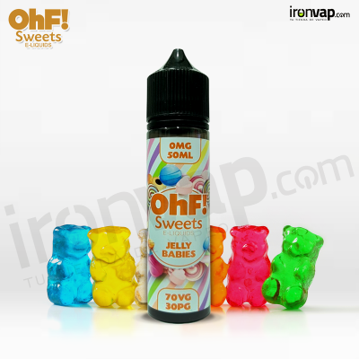 Jelly Babies 50ml TPD - OHF Sweets