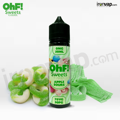 Apple Sours 50ml TPD - OHF Sweets